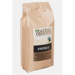 Fair Trade Coffee Beans - Global Grounds French Roast