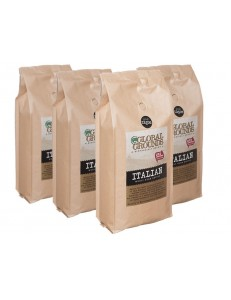 4kg UTZ Certified Coffee Beans - 4 x 1kg - Global Grounds Italian