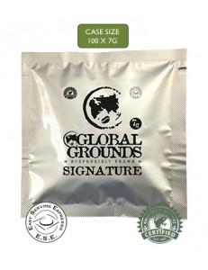 100 Rainforest Alliance ESE Coffee Pods - Global Grounds Signature
