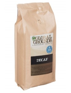 Swiss Water Decaf Coffee Beans 1kg - Global Grounds