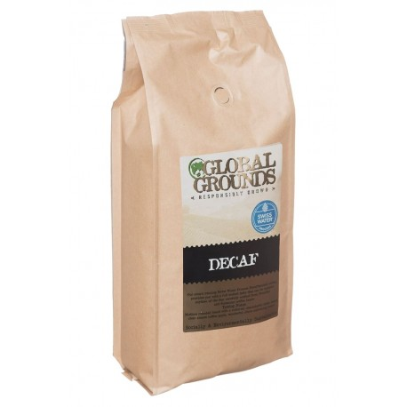 1kg Swiss Water Decaf Coffee Beans - Global Grounds