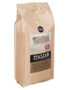 1kg UTZ Certified Coffee Beans - Global Grounds Italian