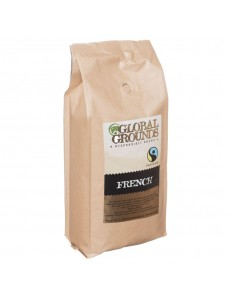 Fair Trade Coffee Beans 1kg - Global Grounds French Roast