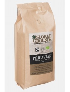 1kg Organic & Fairtrade Coffee Beans Soil Association - Standard Global Grounds Peruvian