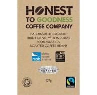 4 x 227g Bird Friendly Smithsonian, Fairtrade & Organic Single Origin Honduras Coffee Beans