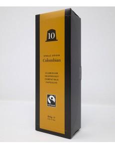 4 x 10 Recyclable Aluminium Nespresso Compatible Fairtrade Single Origin Colombian Capsules